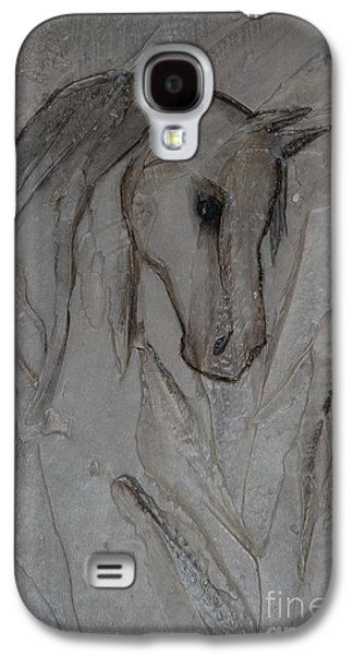 Horse Reliefs Galaxy S4 Cases - Faded Past Galaxy S4 Case by L J Levasseur