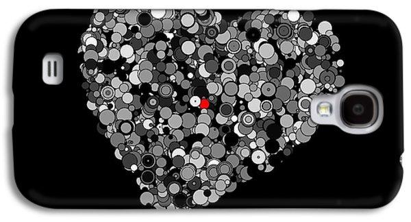 Alone Digital Art Galaxy S4 Cases - Fading Love Galaxy S4 Case by Marianna Mills