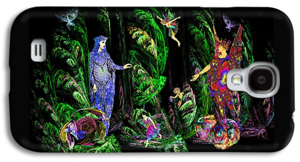 Faery Forest Galaxy S4 Case by Lisa Yount