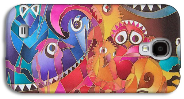 Censorship Galaxy S4 Cases - Fair Weather Friends Galaxy S4 Case by Maria Rova