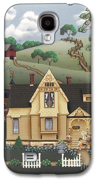 Catherine Galaxy S4 Cases - Fairhill Farm Galaxy S4 Case by Catherine Holman