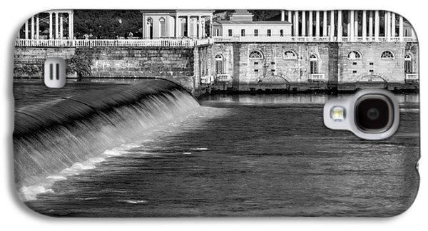 Pennsylvania Galaxy S4 Cases - Fairmount Water Works Park BW Galaxy S4 Case by Susan Candelario