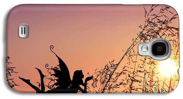 Fantasy Photographs Galaxy S4 Cases - Fairy at the bottom of the Garden Galaxy S4 Case by Tim Gainey