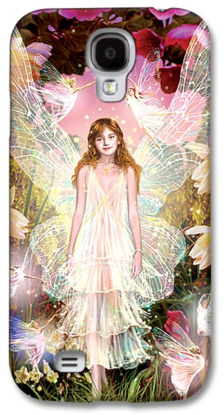 Fantasy Photographs Galaxy S4 Cases - Fairy Crowning Galaxy S4 Case by Garry Walton