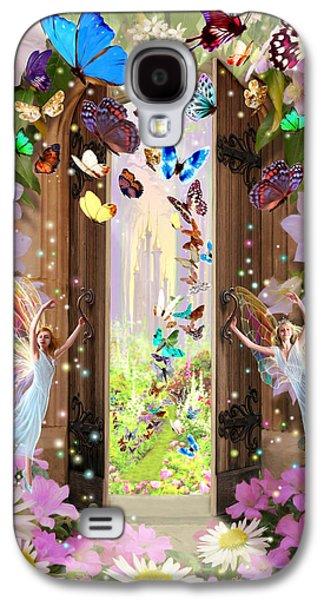 Fantasy Photographs Galaxy S4 Cases - Fairy Door Galaxy S4 Case by Garry Walton