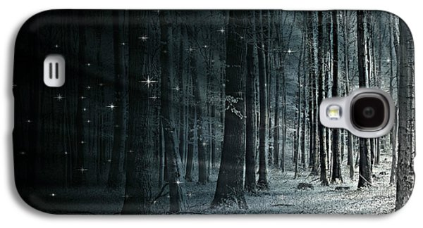 Flora Mixed Media Galaxy S4 Cases - Fairy Forest Galaxy S4 Case by Heike Hultsch