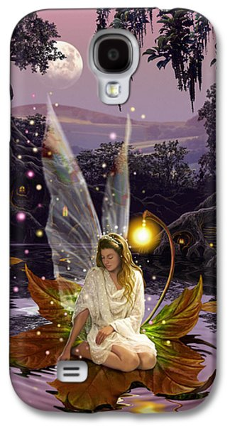 Vertical Flight Galaxy S4 Cases - Fairy Princess Galaxy S4 Case by Garry Walton