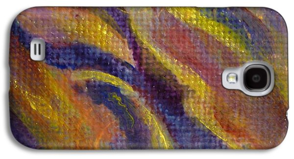 Abstract Jewelry Galaxy S4 Cases - Fairy Wing Galaxy S4 Case by Nancy Garbarini
