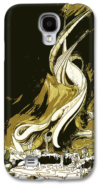 Animation Drawings Galaxy S4 Cases - Fee Galaxy S4 Case by Julio R Lopez Jr