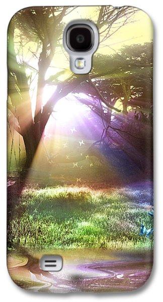 Alixandra Mullins Galaxy S4 Cases - Fairyland Sunset Galaxy S4 Case by Alixandra Mullins