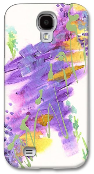 Abstract Forms Galaxy S4 Cases - Faith the Final Frontier Galaxy S4 Case by Holly Carmichael