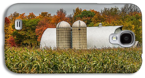 Harvest Time Galaxy S4 Cases - Fall Colors On A Farm Galaxy S4 Case by Paul Freidlund