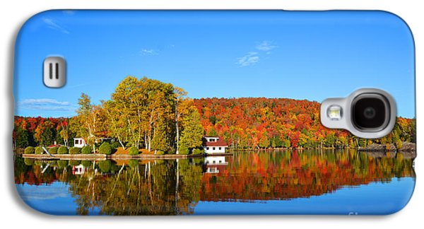 Landscapes Photographs Galaxy S4 Cases - Fall Foliage on Honeymoon Island Galaxy S4 Case by Christine  Dekkers