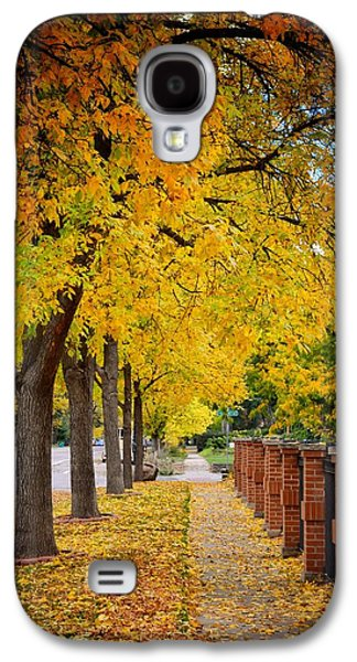 Fort Collins Galaxy S4 Cases - Fall in Fort Collins Galaxy S4 Case by Trish Kusal