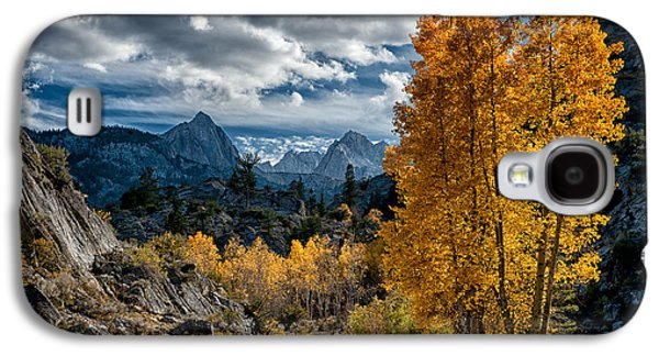 Mountain Road Galaxy S4 Cases - Fall in the Eastern Sierra Galaxy S4 Case by Cat Connor