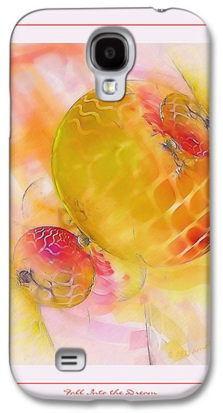 Fractal Pastels Galaxy S4 Cases - Fall Into the Dream Galaxy S4 Case by Gayle Odsather