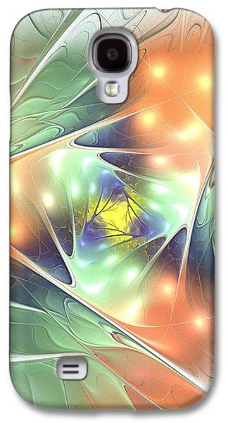 Gift Galaxy S4 Cases - Fall Kaleidoscope Galaxy S4 Case by Anastasiya Malakhova