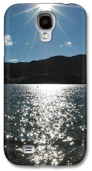 Horsetooth Galaxy S4 Cases - Fall Lake Galaxy S4 Case by Alex Hendricks
