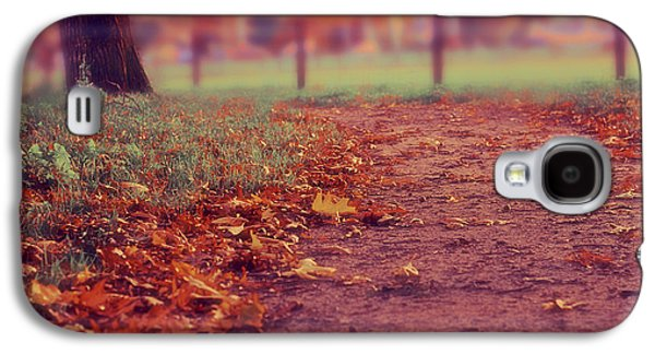 Ground Level Galaxy S4 Cases - Fall Leaves Galaxy S4 Case by Mountain Dreams