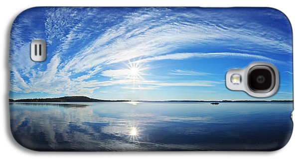 Sun Galaxy S4 Cases - Fall Morning at Meddybemps Panorama Galaxy S4 Case by Bill Caldwell -        ABeautifulSky Photography