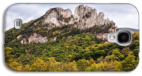 Best Sellers -  - Original Photographs Galaxy S4 Cases - Fall on Seneca Rocks West Virginia Galaxy S4 Case by Dan Carmichael