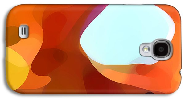 Abstract Movement Galaxy S4 Cases - Fall Passage Galaxy S4 Case by Amy Vangsgard