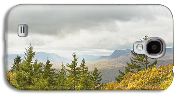 Maine Mountains Galaxy S4 Cases - Fall Rainstorms in Mount Blue State Park Weld Maine Galaxy S4 Case by Keith Webber Jr