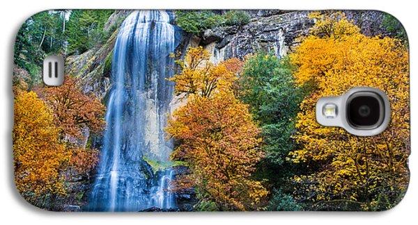 Fall Silver Falls Galaxy S4 Case by Robert Bynum