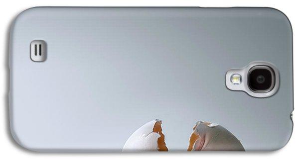 Nursery Rhyme Galaxy S4 Cases - Fallen Egg Galaxy S4 Case by Diane Diederich