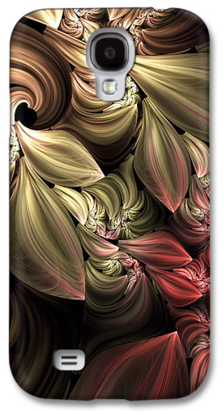 Youthful Digital Art Galaxy S4 Cases - Fallen From Grace Abstract Galaxy S4 Case by Georgiana Romanovna