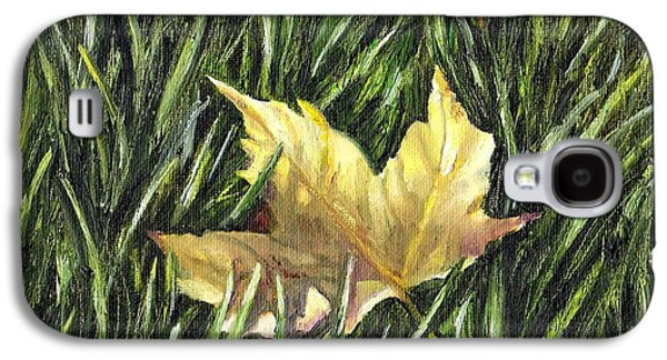 Windblown Paintings Galaxy S4 Cases - Fallen from Grace Galaxy S4 Case by Shana Rowe