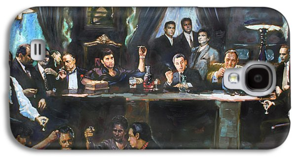 The Galaxy S4 Cases - Fallen Last Supper Bad Guys Galaxy S4 Case by Ylli Haruni