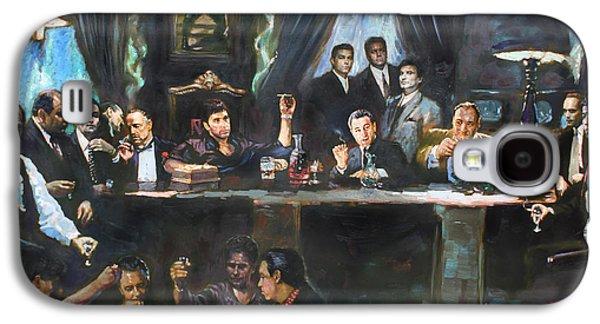 Fallen Last Supper Bad Guys Galaxy S4 Case by Ylli Haruni