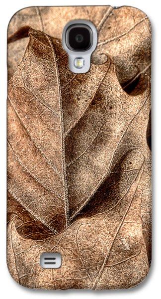 Fallen Leaves I Galaxy S4 Case by Tom Mc Nemar