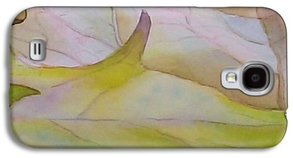 """""""indoor"""" Still Life Paintings Galaxy S4 Cases - Fallen Leaves Galaxy S4 Case by Michelle R Sparks"""