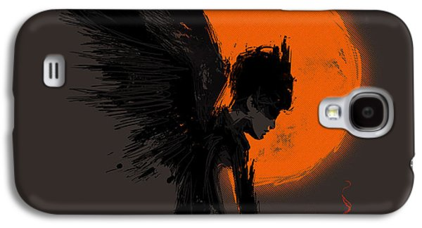 Dark Digital Art Galaxy S4 Cases - Fallen one Galaxy S4 Case by Budi Satria Kwan