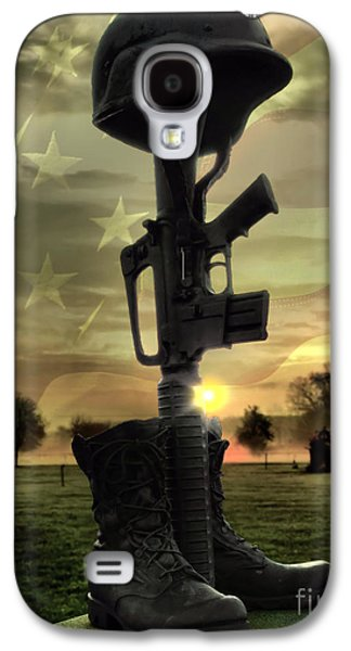 Recently Sold -  - 4th July Galaxy S4 Cases - Fallen Soldiers Memorial Galaxy S4 Case by September  Stone