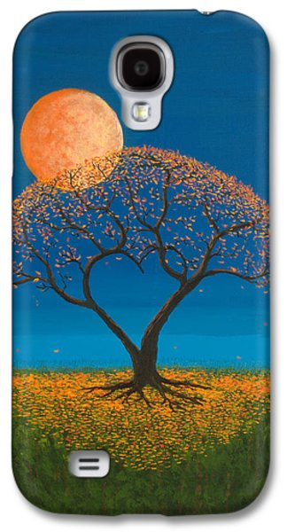 Wall Decor Galaxy S4 Cases - Falling For You Galaxy S4 Case by Jerry McElroy