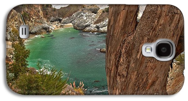 Big Sur Ca Galaxy S4 Cases - Falling Into The Bay Galaxy S4 Case by Adam Jewell