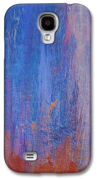 Abstract Expressionist Galaxy S4 Cases - Falling Up Galaxy S4 Case by John Clark