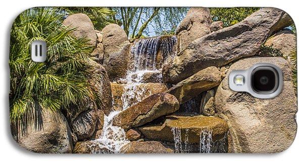 Waterscape Galaxy S4 Cases - Falls At Jackalope Ranch Galaxy S4 Case by Barbara Snyder