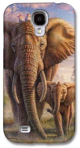 Family Stroll Galaxy S4 Case by Phil Jaeger