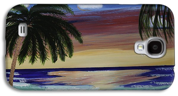 Etc. Paintings Galaxy S4 Cases - Family Vacation Galaxy S4 Case by Donna Guzman