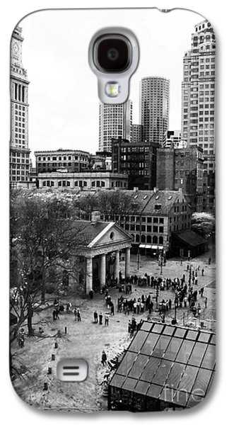 Photo Art Gallery Galaxy S4 Cases - Faneuil Hall Marketplace Galaxy S4 Case by John Rizzuto