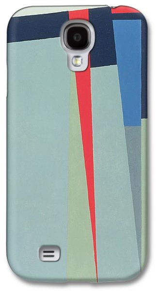 Modern Abstract Galaxy S4 Cases - Fanfare, 1974 Acrylic On Gouache And Pencil Galaxy S4 Case by George Dannatt