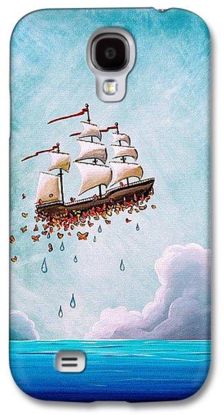 Masts Galaxy S4 Cases - Fantastic Voyage Galaxy S4 Case by Cindy Thornton