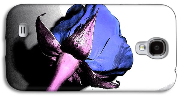 Fantasy Purple And Pink Rose Galaxy S4 Case by Minding My  Visions by Adri and Ray