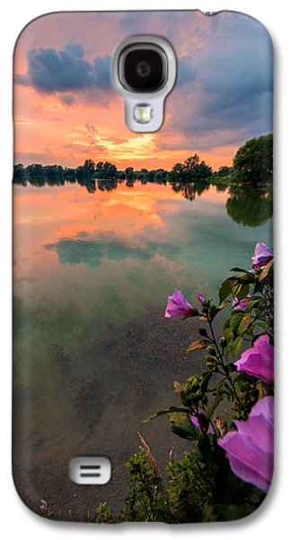 Waterscape Galaxy S4 Cases - Farewell from the sun Galaxy S4 Case by Davorin Mance