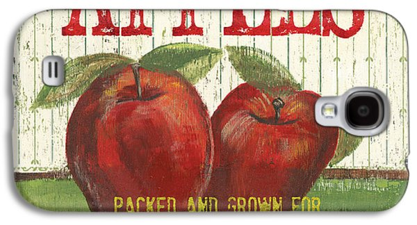 Antiques Paintings Galaxy S4 Cases - Farm Fresh Fruit 3 Galaxy S4 Case by Debbie DeWitt