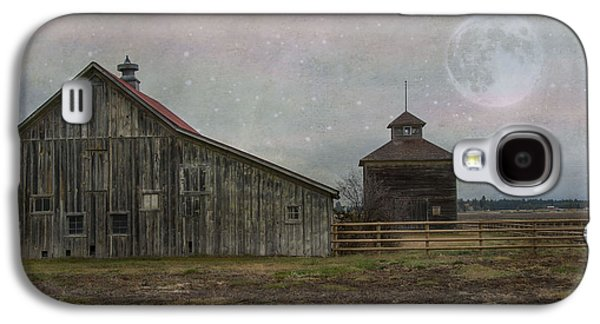 Rural Scenes Photographs Galaxy S4 Cases - Farm in Kalispell Montana Galaxy S4 Case by Juli Scalzi